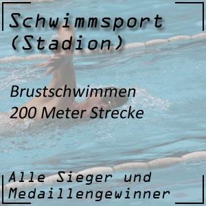 Brustschwimmen 200 m