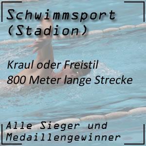 Schwimmen Freistil 800 Meter
