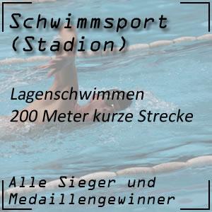 Lagenschwimmen 200 m