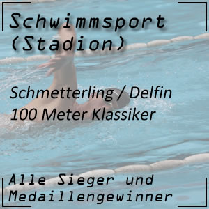 Schmetterling 100 m