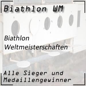 Biathlon-WM Übersicht