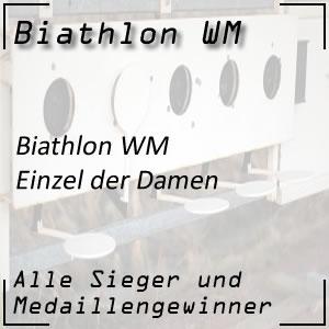 Biathlon WM Einzel Frauen