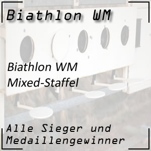 Biathlon WM Mixed-Staffel