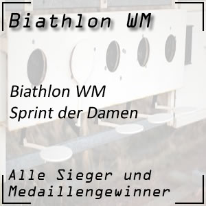 Biathlon-WM Sprint Frauen