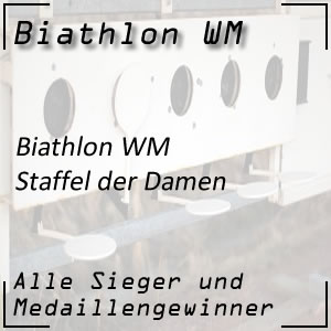 Biathlon WM Staffel Frauen