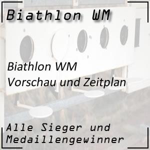 Biathlon WM 2019 Vorschau und Zeitplan