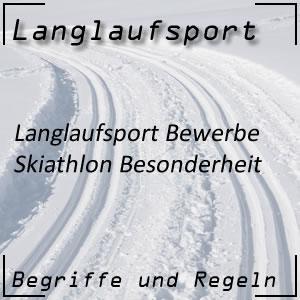 Langlauf Skiathlon Besonderheiten