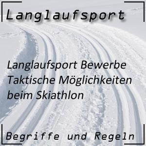 Langlauf Skiathlon Taktik