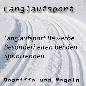Langlauf Sprint Besonderheiten