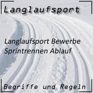 Langlauf Sprint Ablauf