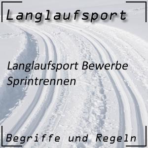 Langlauf Sprint Einzelsprint