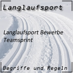 Langlauf Teamsprint
