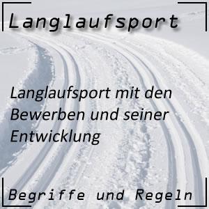 Langlauf Langlaufsport Geschichte