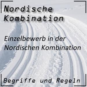 Nordische Kombination Einzelbewerb