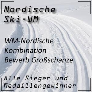Nordische Ski-WM Nordische Kombination Großschanze