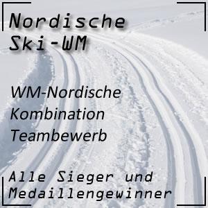Nordische Ski-WM Nordische Kombination Teambewerb