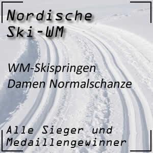 Nordische Ski-WM Skispringen Einzel der Damen