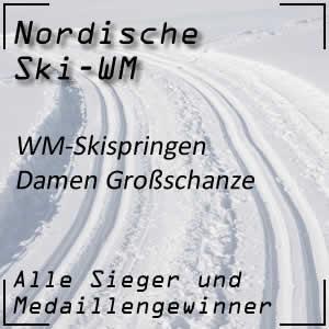 WM Skispringen Damen Großschanze