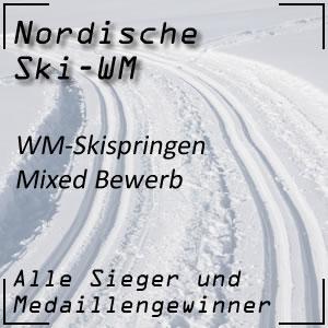 Nordische Ski-WM Skispringen Mixed-Bewerb