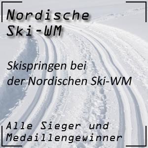 Nordische Ski-WM Skispringen