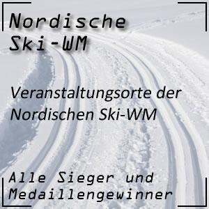 Nordische Ski-WM Veranstaltungsorte