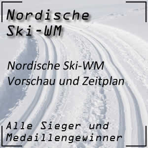 Nordische Ski-WM Vorschau und Zeitplan