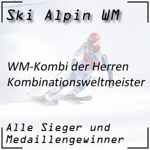 Ski Alpin WM Kombination der Herren / Kombinationsweltmeister