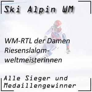 Ski Alpin WM Riesenslalom Damen / RTL-Weltmeisterinnen