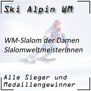 Ski Alpin WM Slalom Damen / Slalomweltmeisterinnen