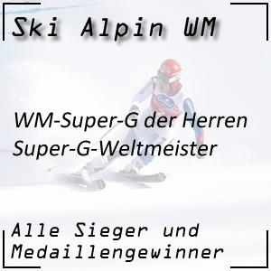 Ski Alpin WM Super-G Herren / Super-G-Weltmeister