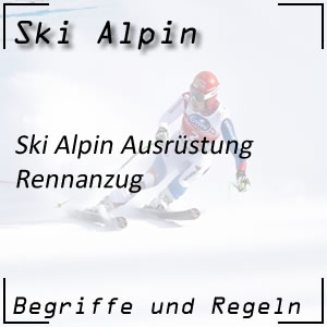 Ski Alpin Rennanzug
