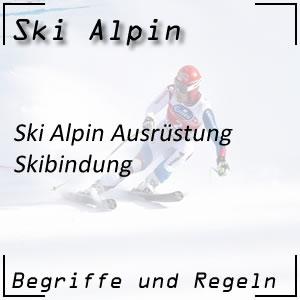 Ski Alpin Skibindung