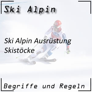 Ski Alpin Skistöcke