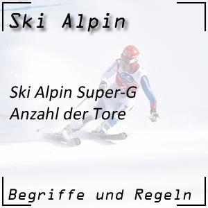 Ski Alpin Super-G Tore Doppeltore