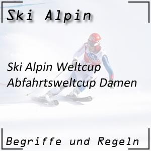 Ski Alpin Abfahrt Damen