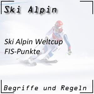 Ski Alpin Weltcup FIS Punkte