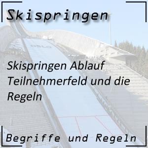 Skispringen Ablauf Teilnehmerfeld