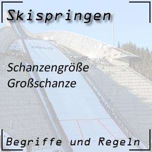 Skispringen Großschanze