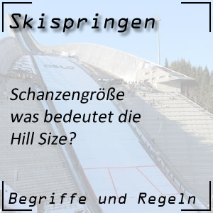 Skispringen Hill Size
