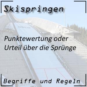 Skispringen Punktewertung