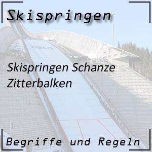 Skispringen Zitterbalken