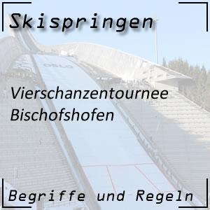 Skispringen Vierschanzentournee Bischofshofen
