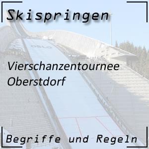 Skispringen Vierschanzentournee Oberstdorf