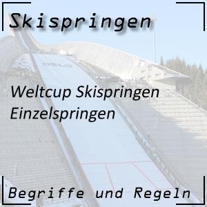 Skispringen Weltcup Einzelspringen