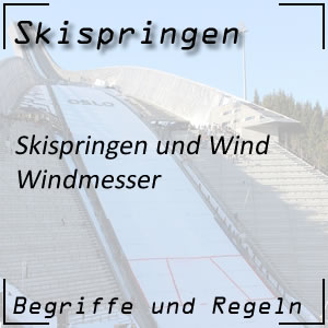 Skispringen Windmesser