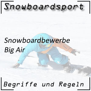 Snowboard Big Air Bewerb