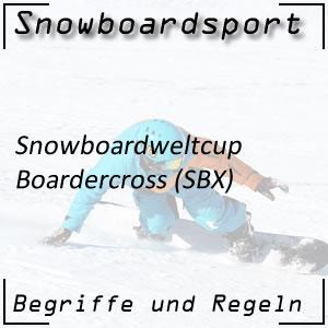Snowboard Boardercross-Weltcup SBX
