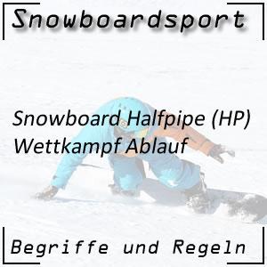 Snowboard Halfpipe Wettkampf Ablauf
