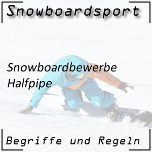 Snowboard Halfpipe