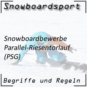 Snowboard Parallel-Riesentorlauf (PSG)